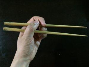 左利き 箸