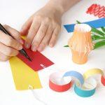 七夕飾りの作り方で折り紙でやるなら、子供がパパッとできるものとは?